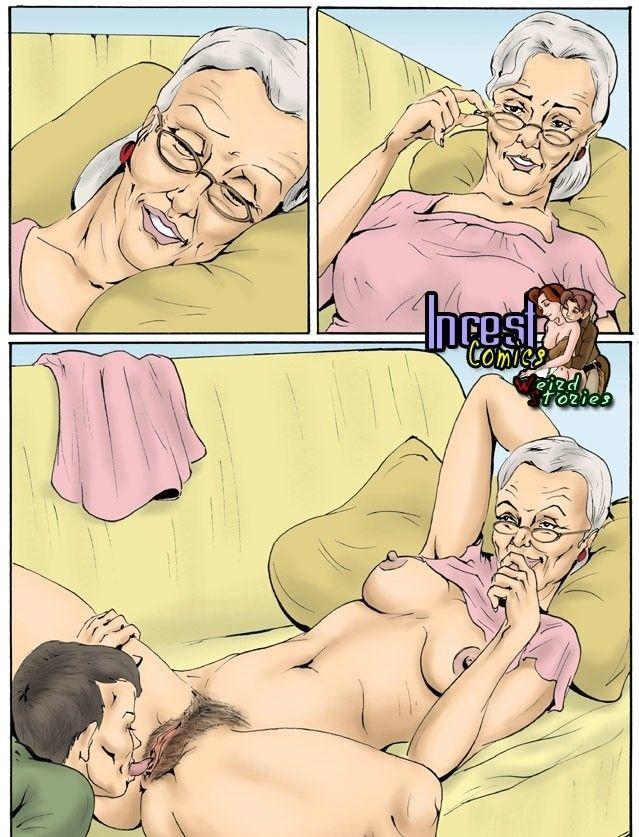 Порно комиксы про бабушек