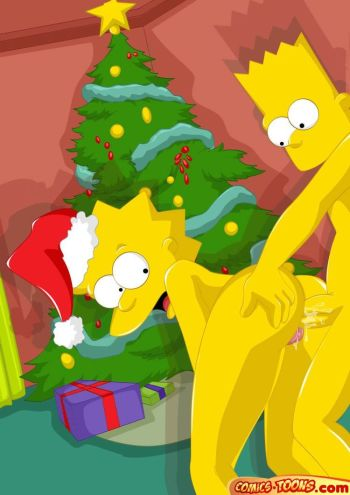 Порно Комиксы Симпсоны Рождество