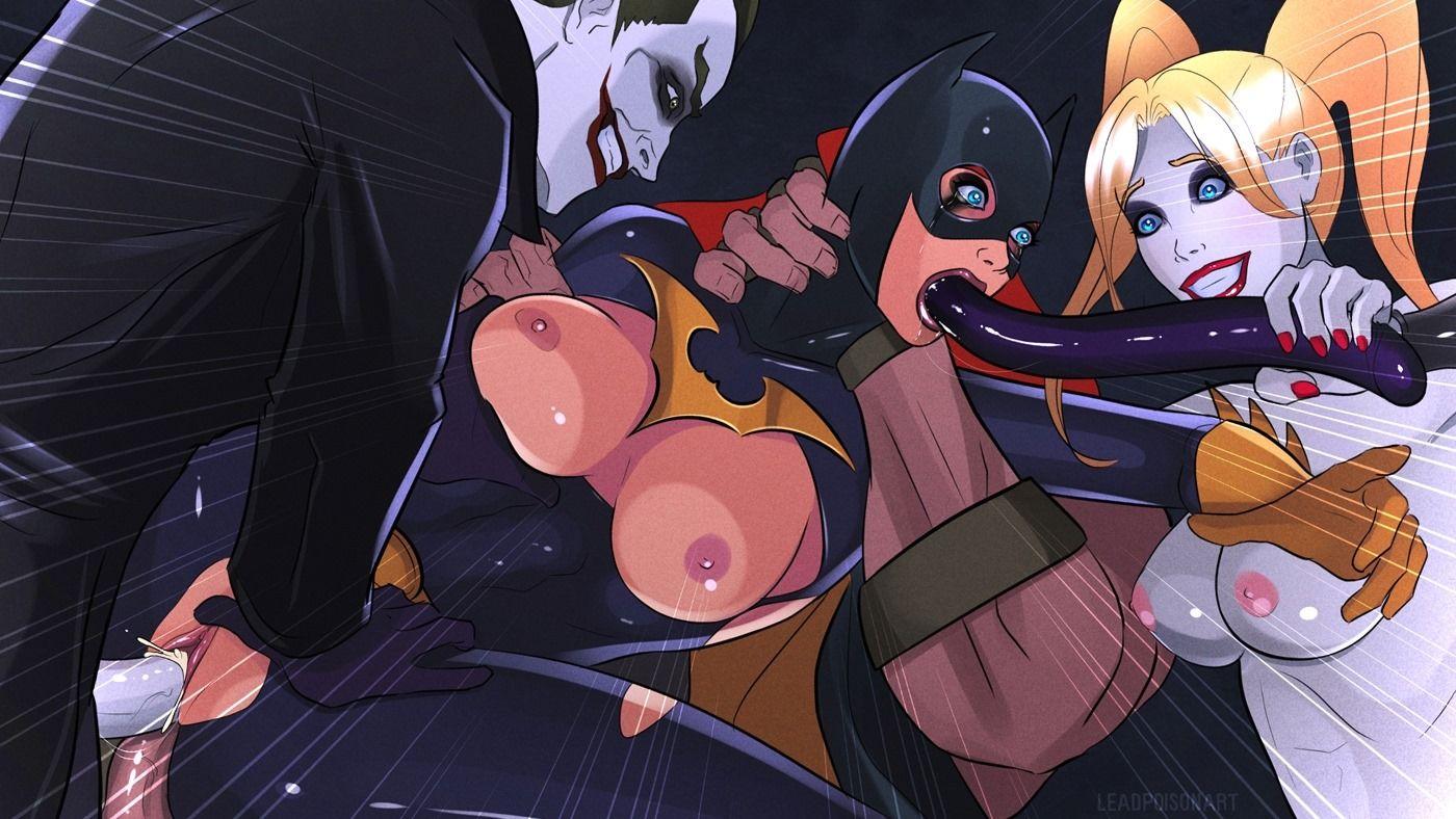 Batgirl smothering anime xxx
