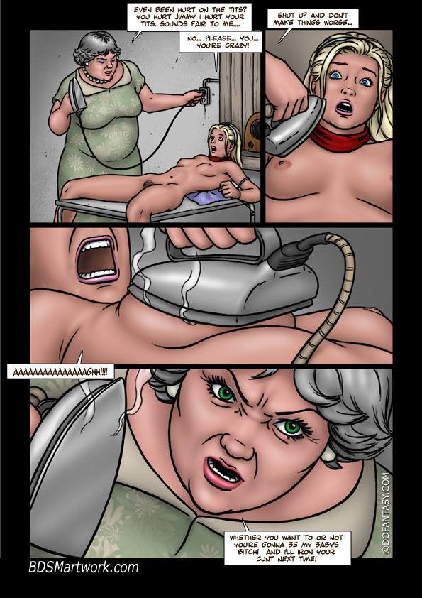 комиксы порно похищение