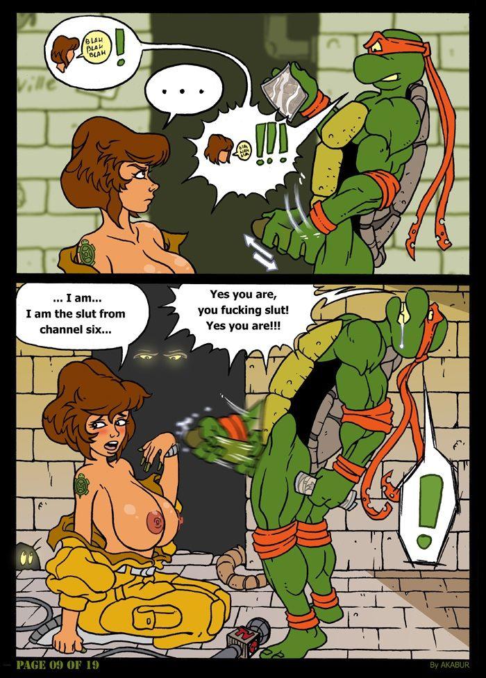 Порно комиксы tmnt