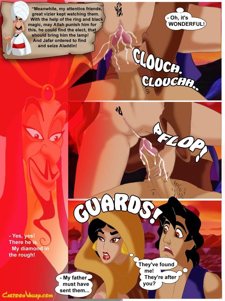 порно алладин комиксы