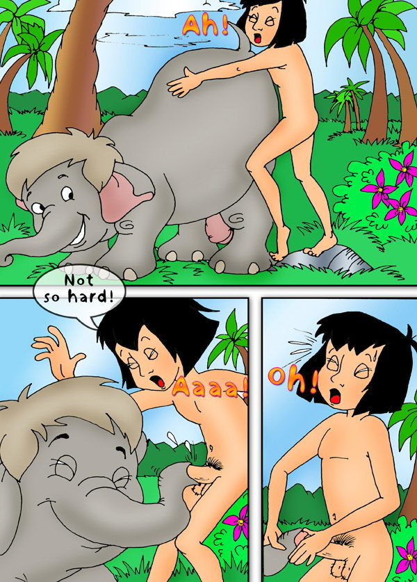 Порно групповушка среди джунглей