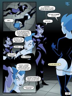 Inque and Livewire (Batman Beyond)