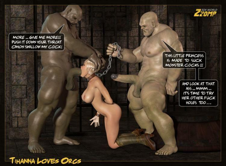 Порно с 3d орками комиксы
