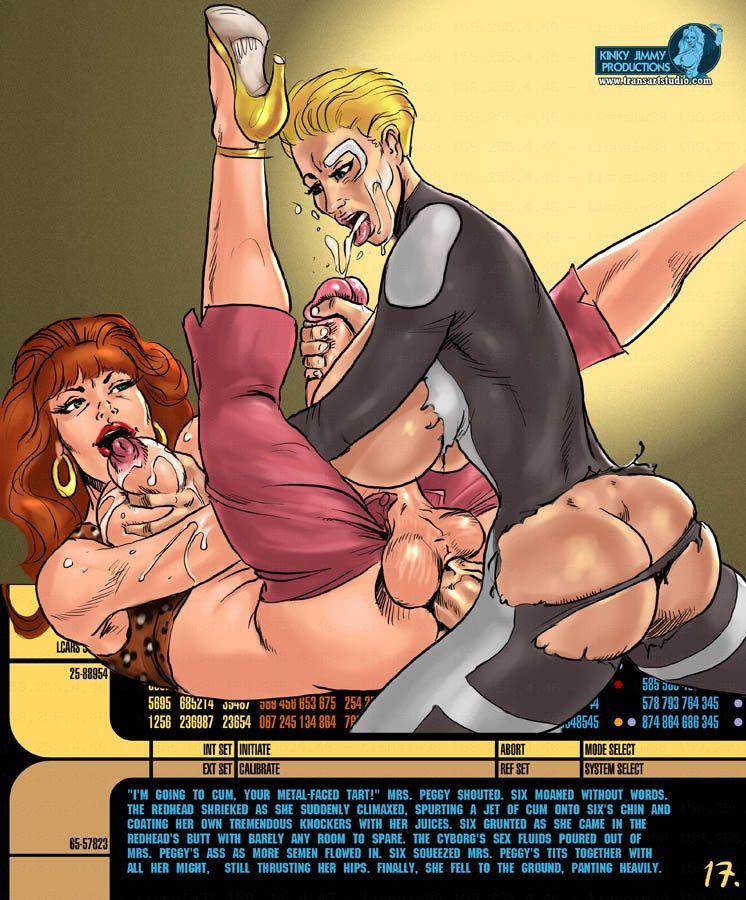 фото порно комиксы трансов