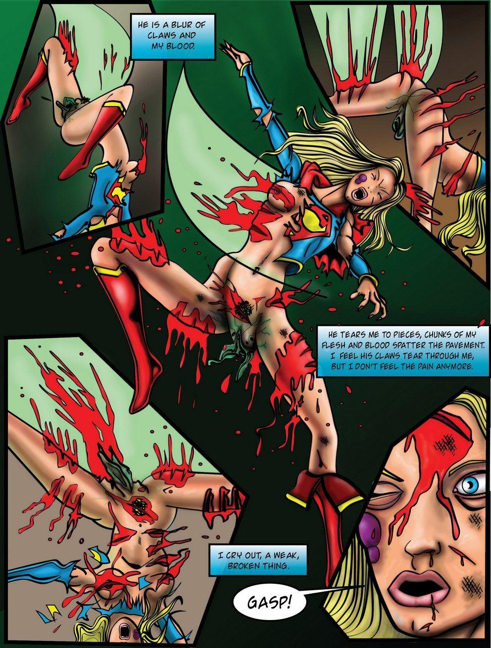 Supergirl sex demon nude images