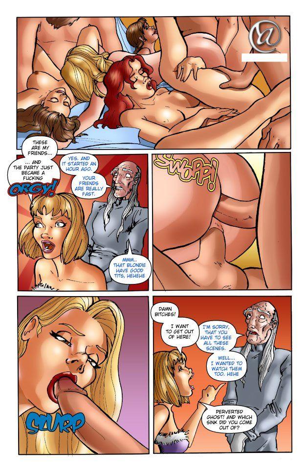 Порно комиксы про анальный секс