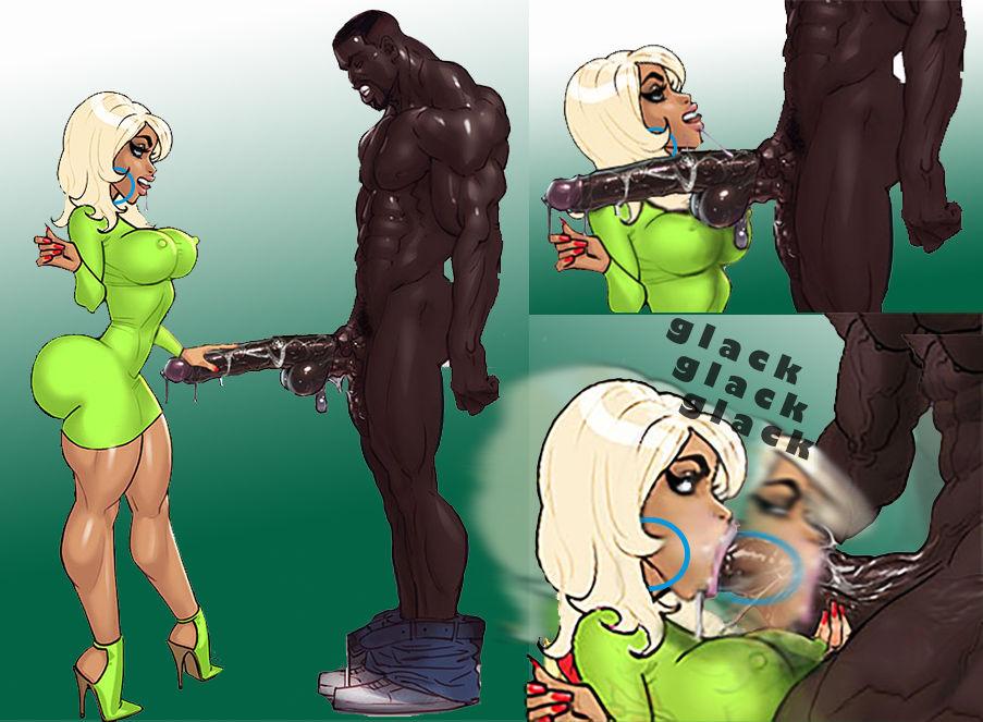 Interracial John Parsons Cartoons