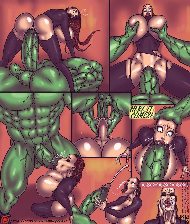 еблля мстителей порно комикс