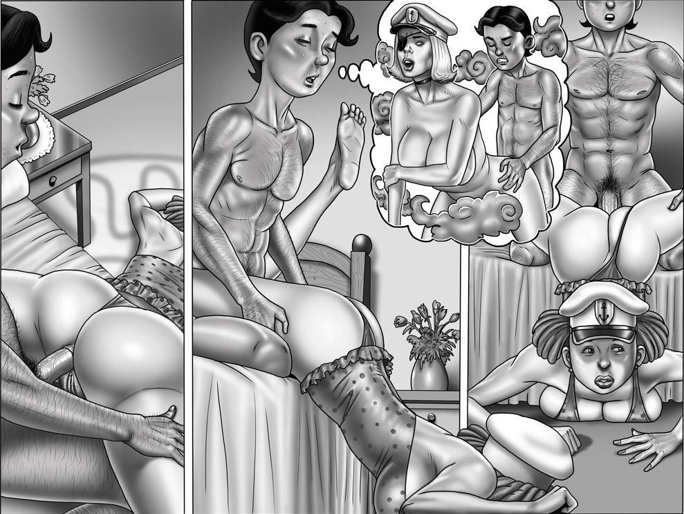 Порно Комиксы Инцест