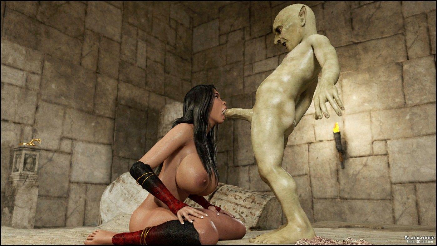 The Golden Snake - Blackadder-3D Monster Sex Page 11 ...