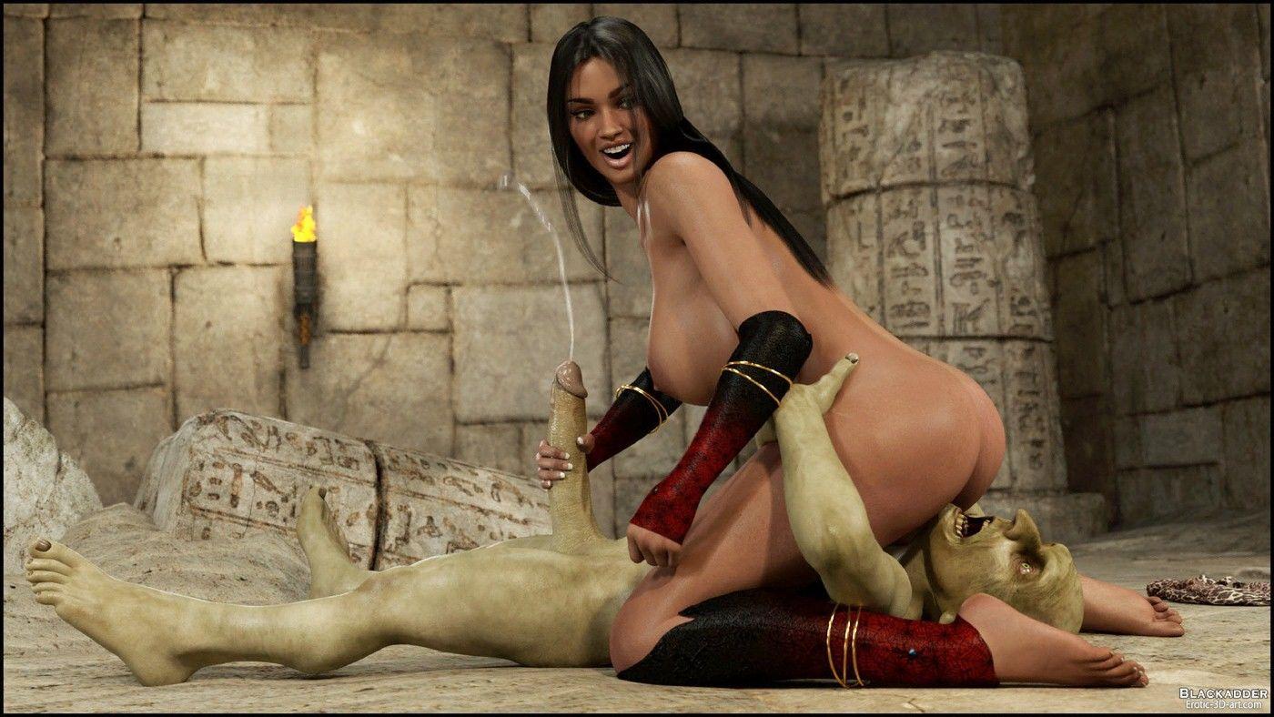 The Golden Snake - Blackadder-3D Monster Sex Page 47 ...