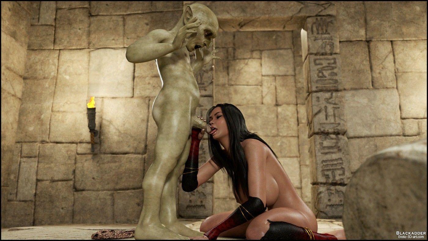 The Golden Snake - Blackadder-3D Monster Sex Page 9 - Free ...