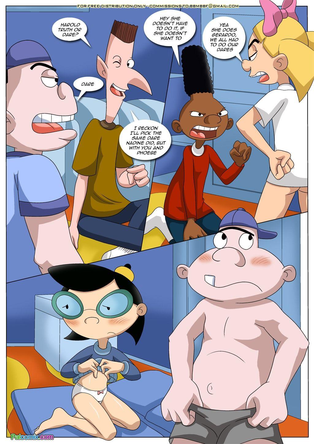 Порно комиксы арнольд после вечеринки