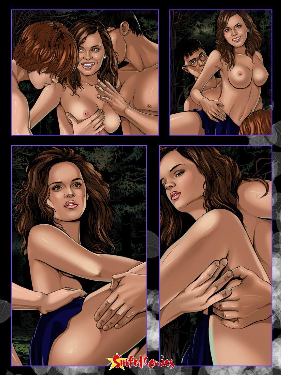 Секс в хогвартсе или магия секса