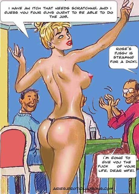 Nude beach porn comics