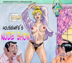 Housewifes Nude Show - Aries