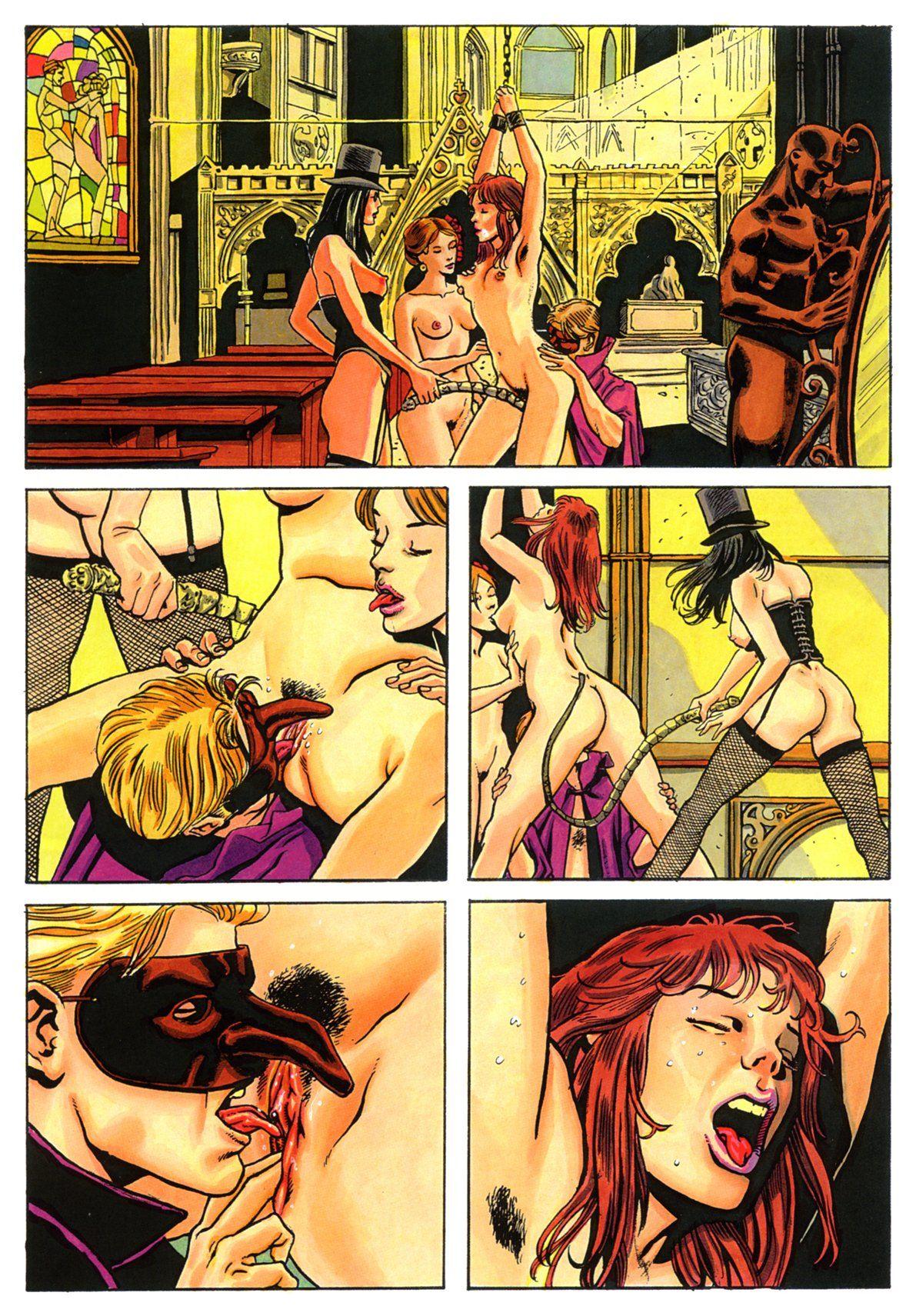 Порно Комиксы Девственница