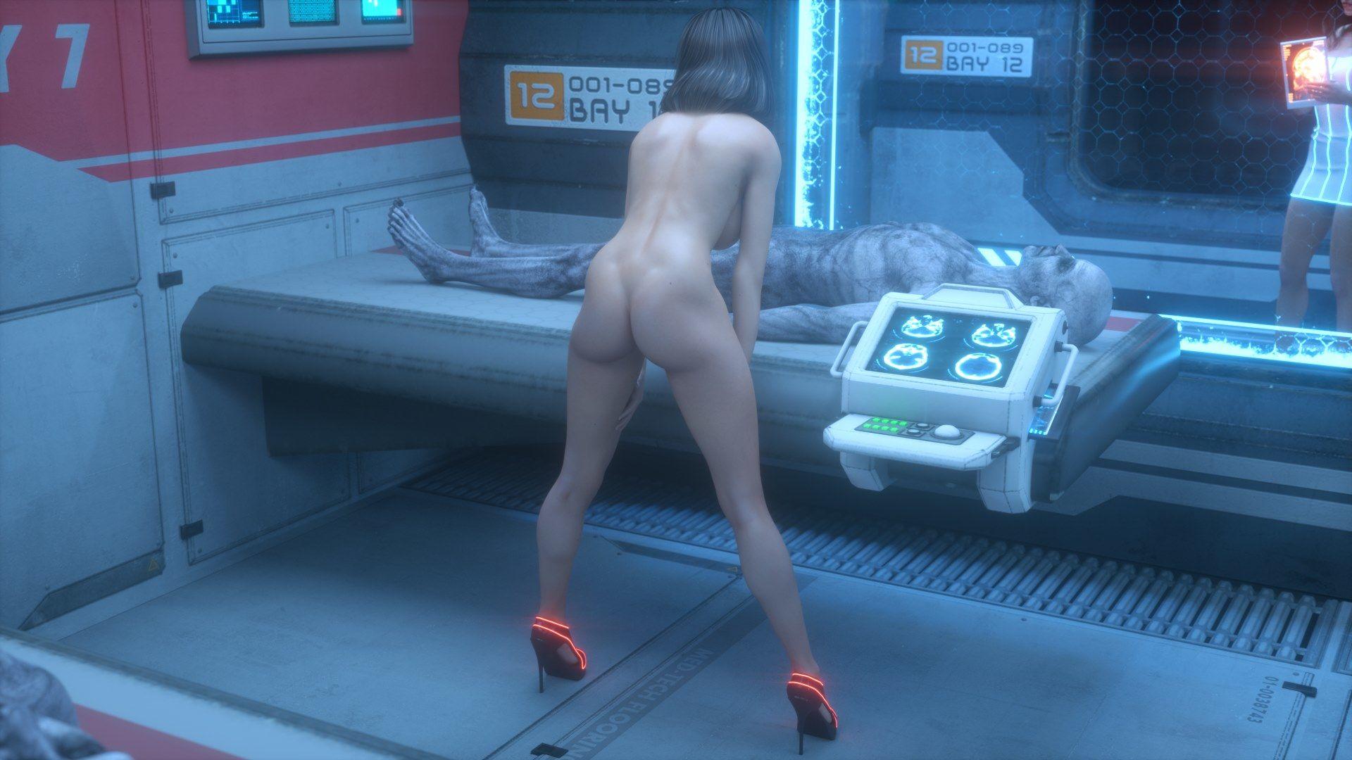 Crazy scifi porn galactic girls