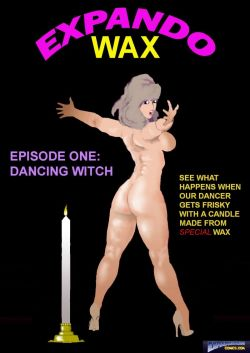 Expando Wax Dancing Witch