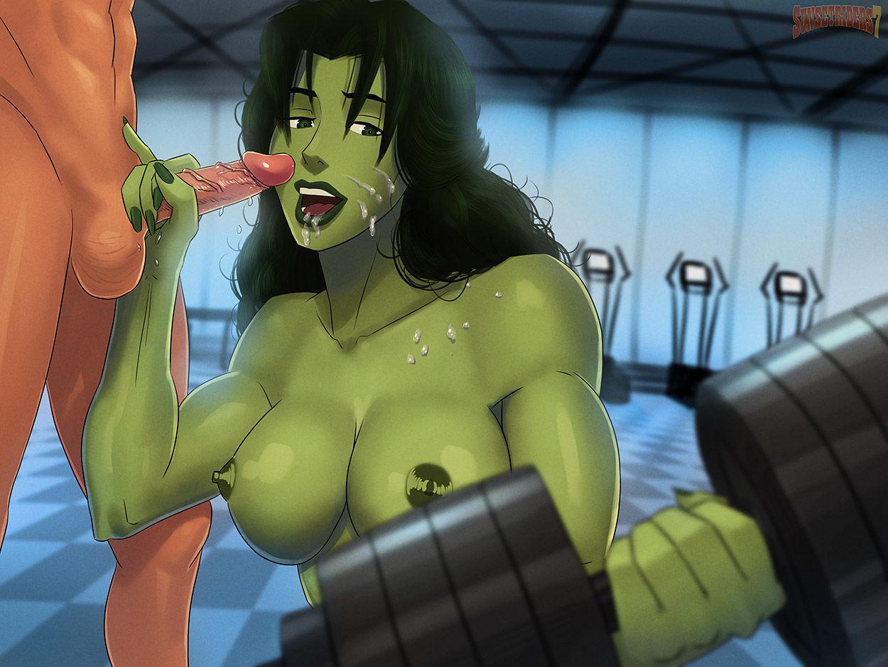 Incredible hulk porn videos