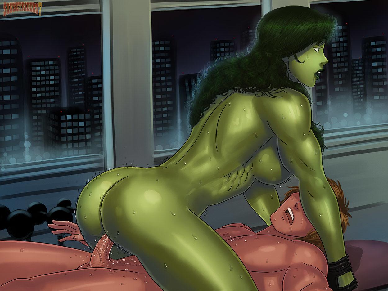 Sexy amazon hulk chan