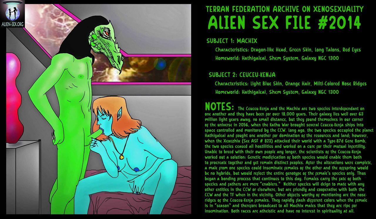 Naked Sexy Alien Girl