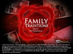 Family Traditions 1 - The Preparation