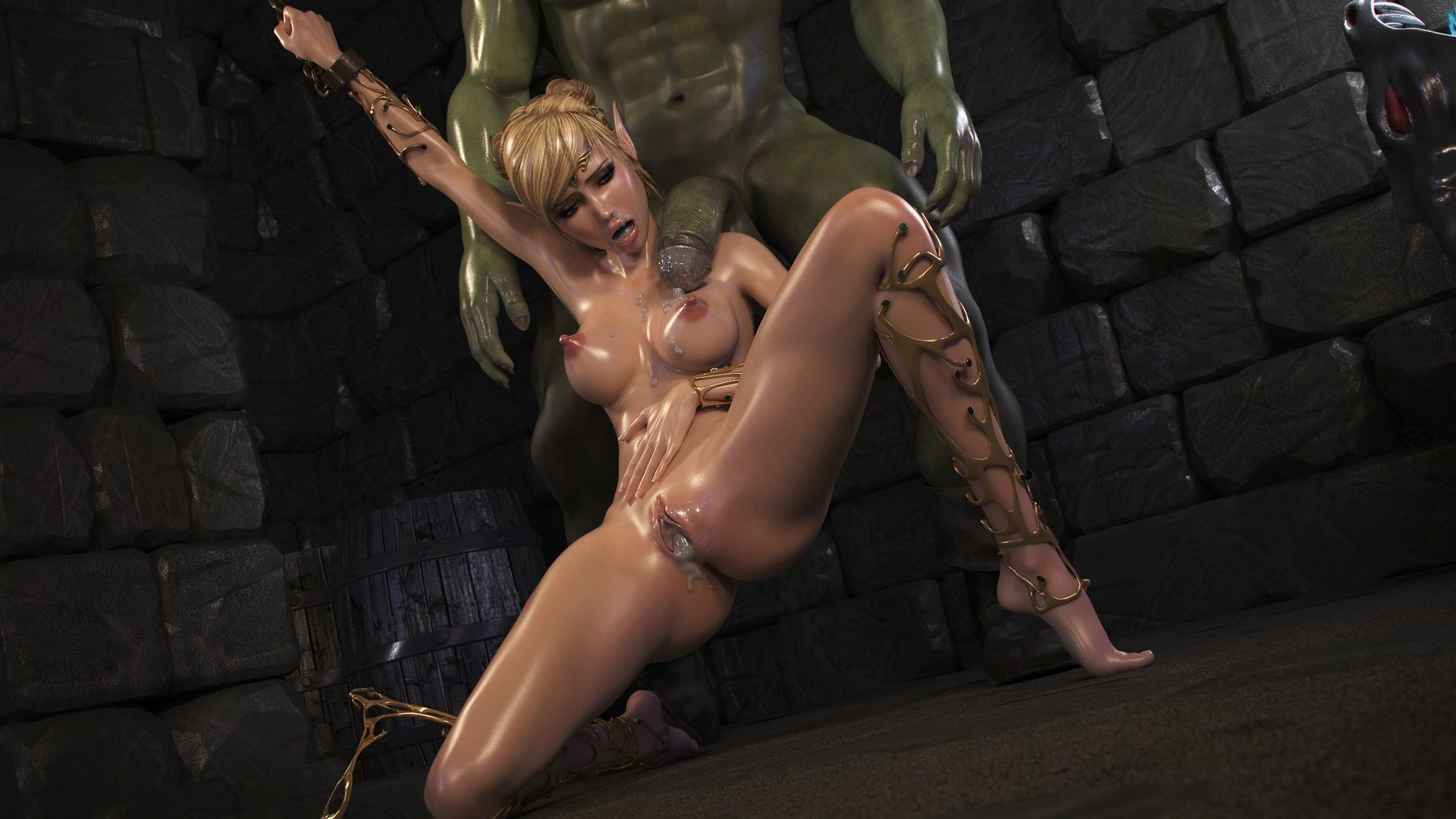 Dungeon sex toy porn gif