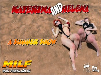 A Summer Show Katerina and Helena (PigKing) cover