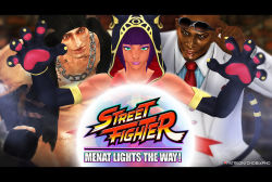 Menat Lights The Way - Street Fighter