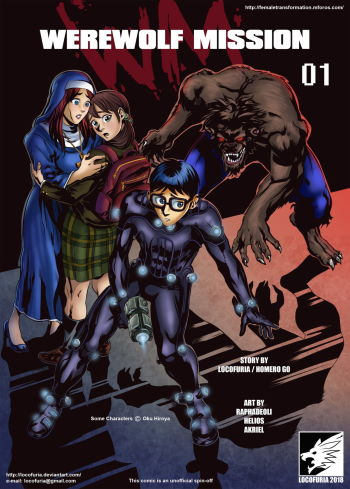 Werewolf Mission 01 Locofuria cover