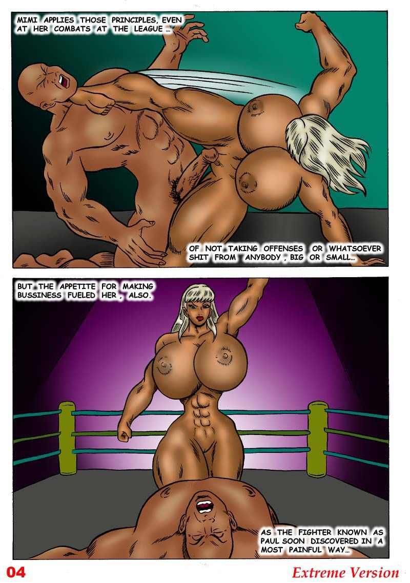 Not so Easy Money Badgirl page 5