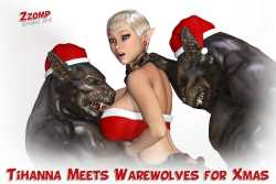Tihanna Meets Warewolves For Xmas