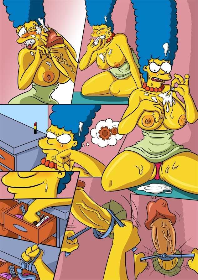 комиксы симпсоны порно фото