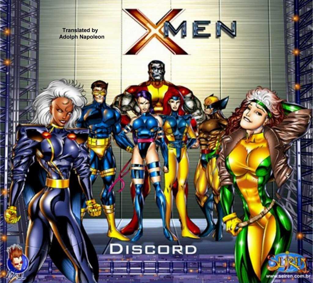 X-Men Page 1 - Free Porn Comics