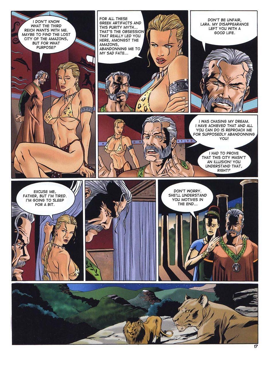 Lara jones and the amazon sex pics erotic picture