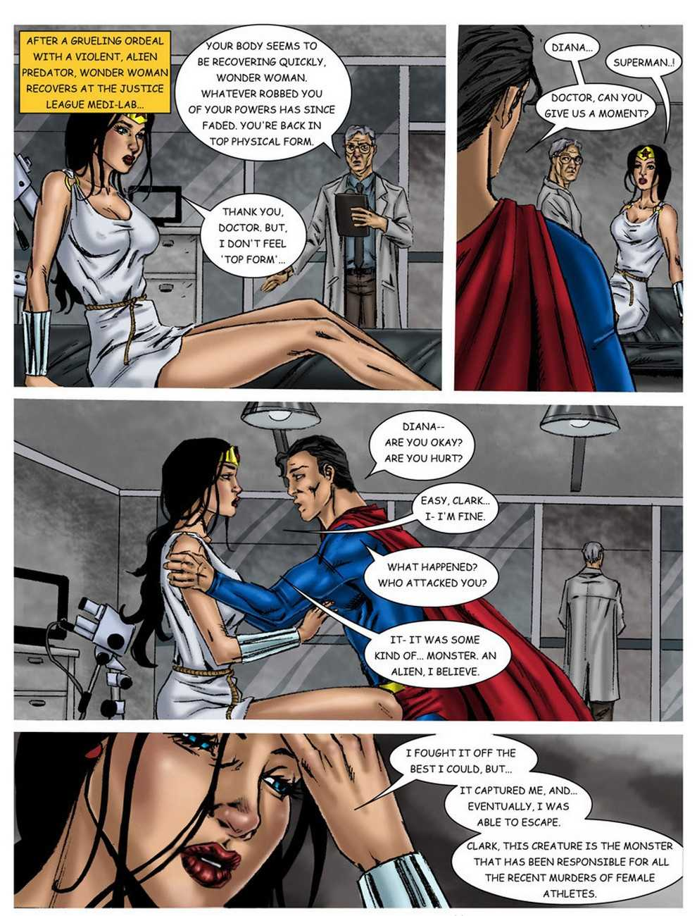 Wonderwoman vs alien xhamster nackt photo