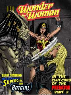 Wonder Woman - In The Clutches Of The Predator 2