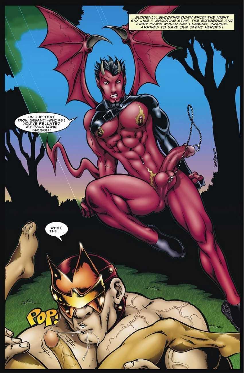 Naked justice class comics