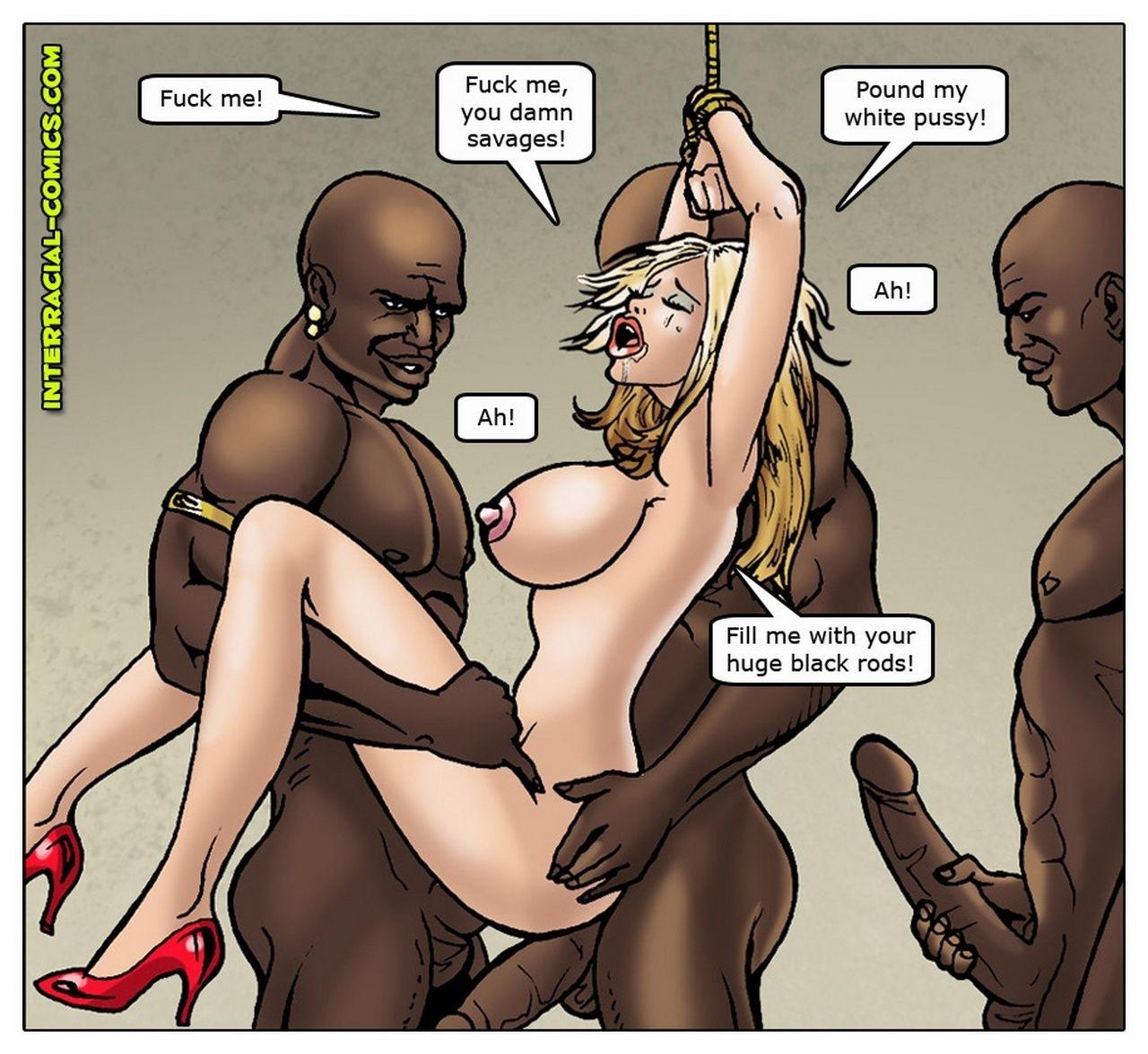 комиксы порно секс с неграми № 306746 бесплатно
