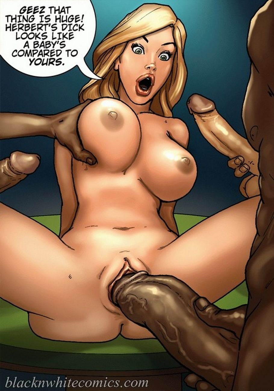 Naked slave in the forest hentai pic