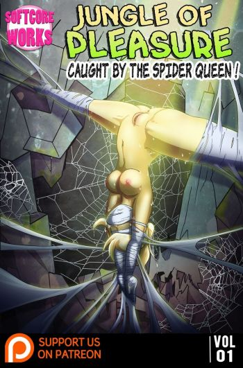 Jungle Of Pleasure Volume 1 - Caught By The Spider Queen cover
