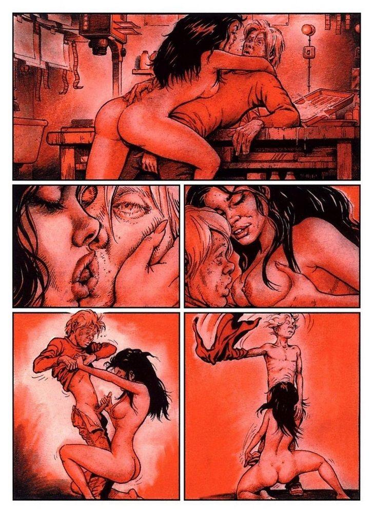 Комикс секс фото сюжет
