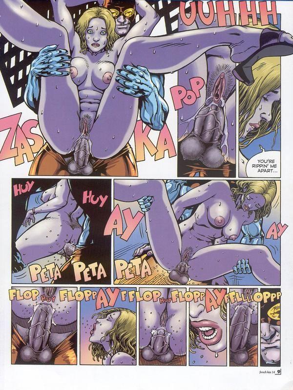 Супергерои порно комикс 82220 фотография