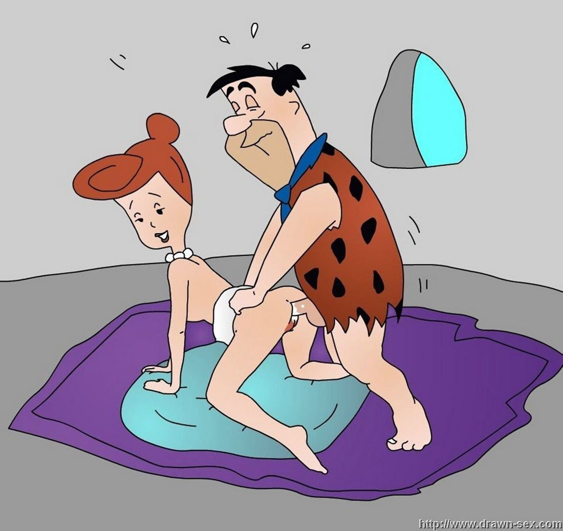 Flintstones cartoon threesome