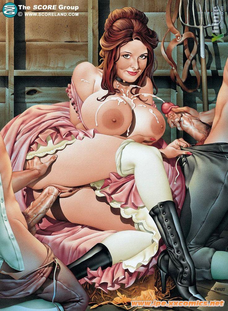 Порно толстушки комиксы