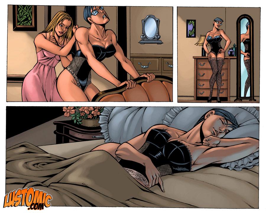 Кроссдрессеры порно комиксы
