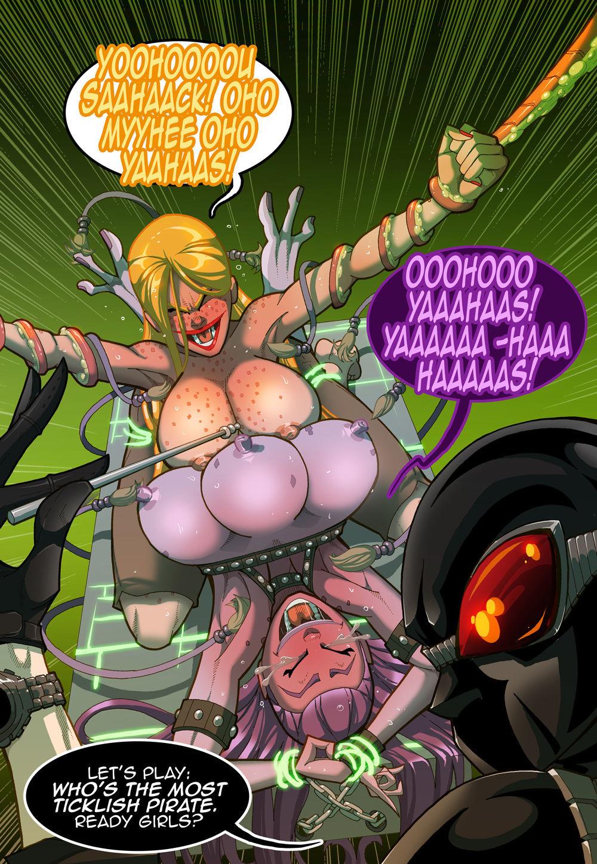 Adult porno tickling comics — 8